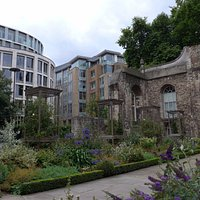 London, Christchurch Greyfriars Garden