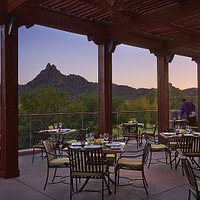 Patio dining at its finest
