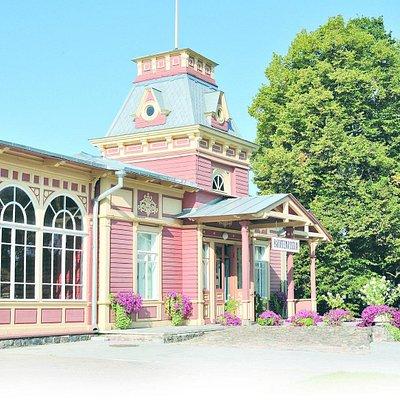 Old Railway Station, Haapsalu, Estonia