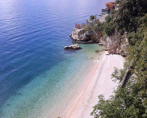 Sablićevo beach in Rijeka
