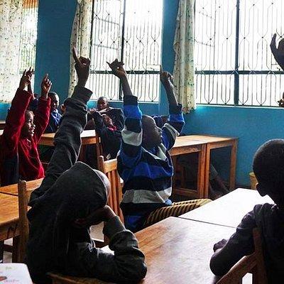 An active class at Amani
