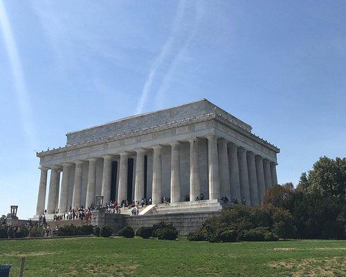 National gallery of art, Lincoln Memorial, Arlington cemetery