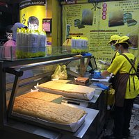 fresh sponge cake!