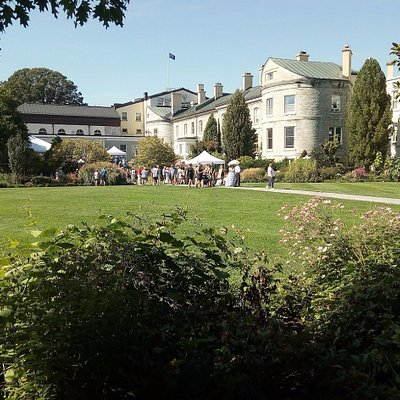 Rear view of Rideau Hall