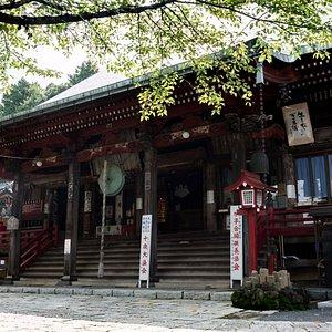山口観音(金乗院)の本堂