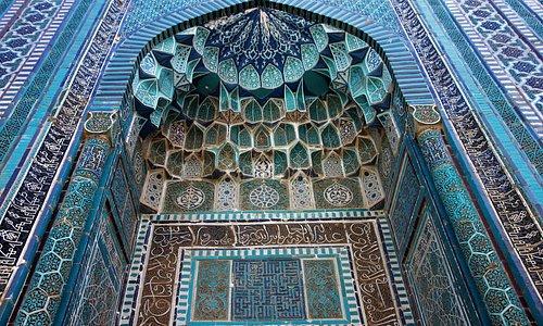 Eingang zu einem Mausoleum