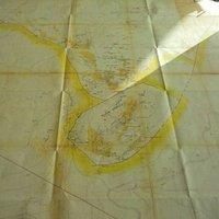 Mappa di Leonardo da Vinci delle miniere di Dossena
