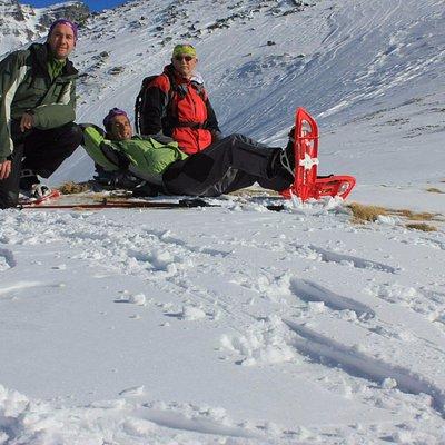Snowshoing in Sharri NP Prizren