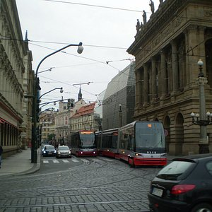 Electric Trams, Typical of Surface System