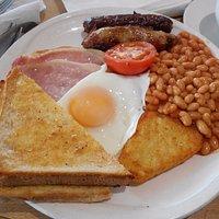 Traditional breakfast.