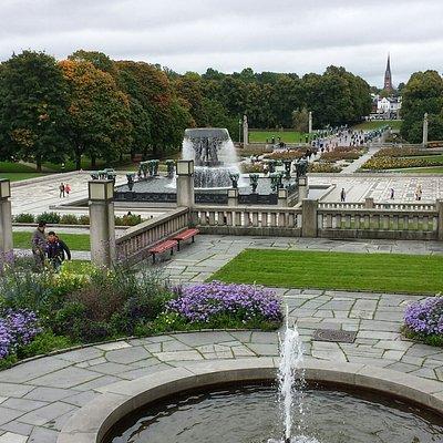 The sculture park gardens