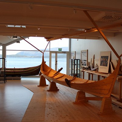 The museum also boasts a boatbuilder environment.