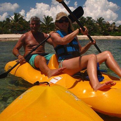 kayaking in tulum