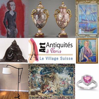 100 Antiquaires et Galeristes au Village Suisse - Paris