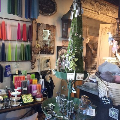We carry candles in many sizes, shapes, scents and waxes.