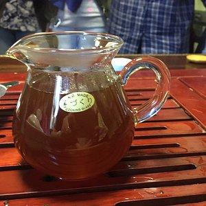 Сваренный чай Хуннань Ча, лучшее средство для поддержание организма в зимний период.