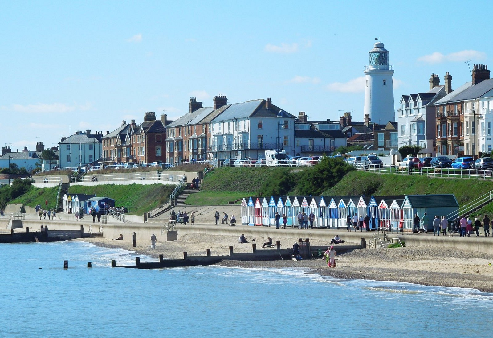 Southwold from the pier