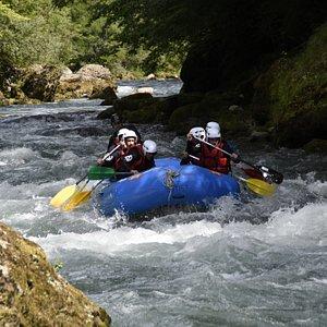 Rafting in Zermatt