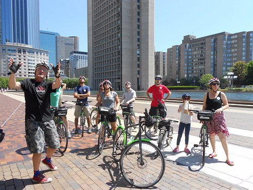 Our guides stop and share unique facts and stories about Boston