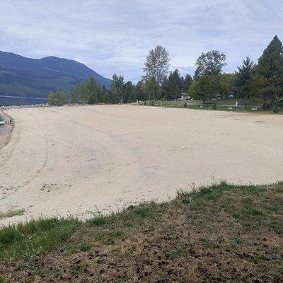 Beach area at Nakusp, BC