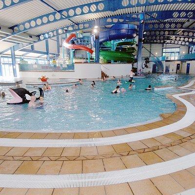 Indoor pools at Oasis