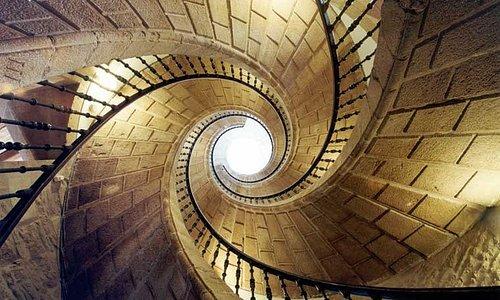 Triple escalera helicoidal de Domingo de Andrade. S. XVII.