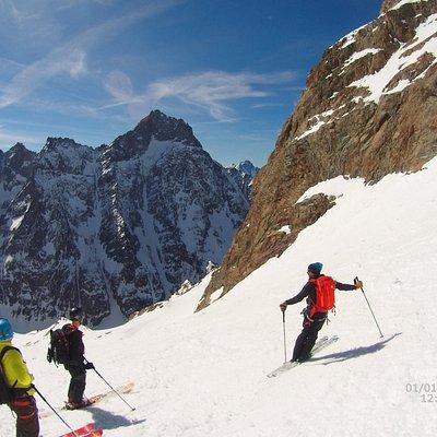 Ski Freeride Paradise dans les Ecrins