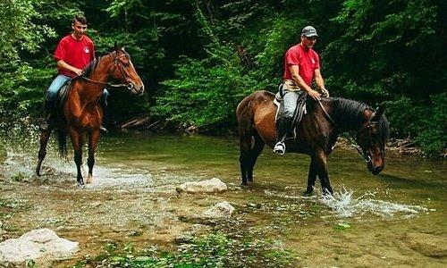 Trail riding in Rakovica