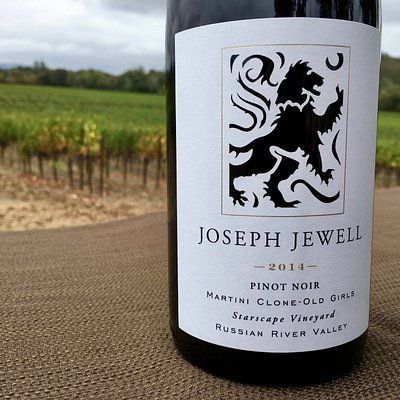 This is just one of the extraordinary Pinot Noir wines made by Joseph Jewell Wines.