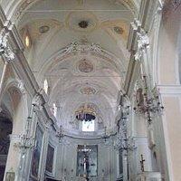 La navata centrale del Santuario