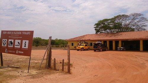 Fazenda de Pablo Escobar no caminho