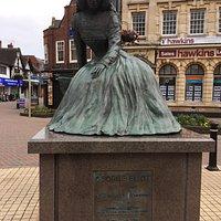 Statue of writer George Eliot
