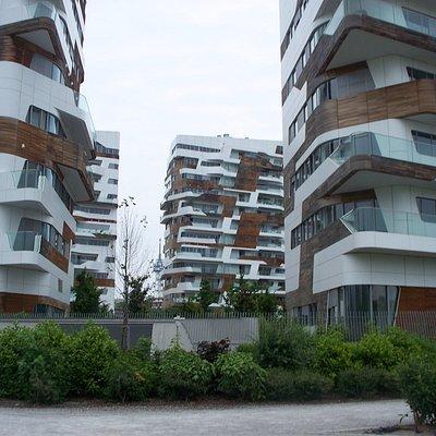 gli edifici