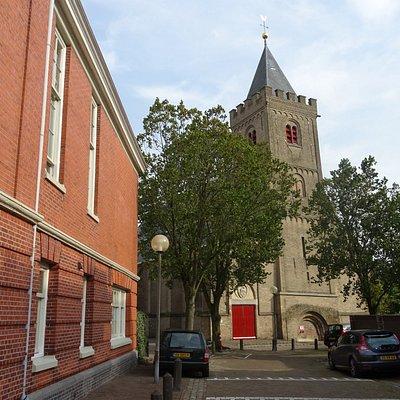 -Grote Kerk Muiden of St.Nicolaaskerk Muiden uit 1425-
