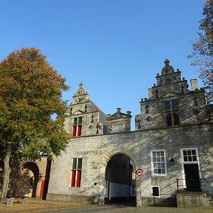 -Rijksmonument Noordhavenpoort Zierikzee uit 1400-1559-