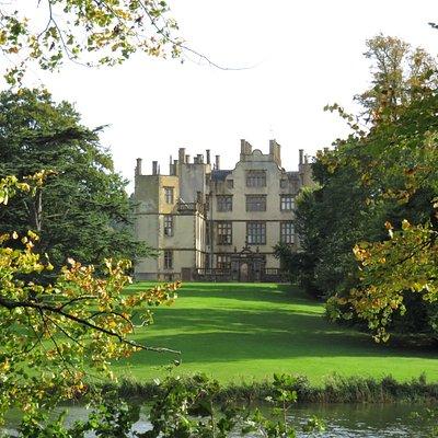 Sherborne Castle across the lake