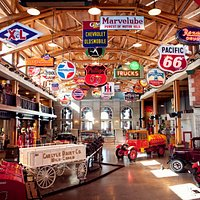 Thousands of automobile memorabilia items