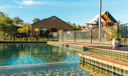 Toddlers pool and main pool