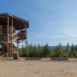 Der Green Mountain Vieweing Tower