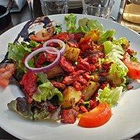 Salade indienne.