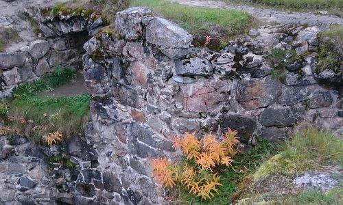Kajaani castle ruins on the top