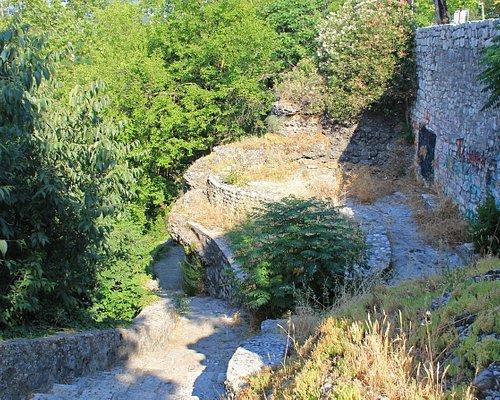 Skaline Fortress Area in Podgorica, Montenegro, June 2017