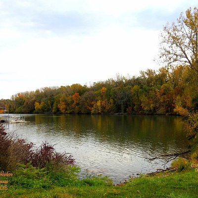 This photo was taken from the foot bridge at Bellamy Harbor in Rome,NY.