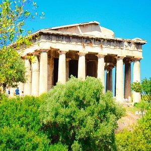 TheTemple of Hephaestus.
