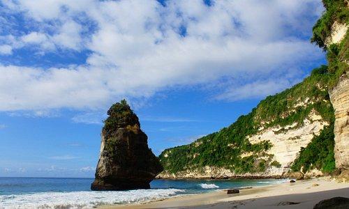 Wonderful Beach, Privat Beach.,cocok dijadikan bucketlish jika mengunjungi Nusa Penida