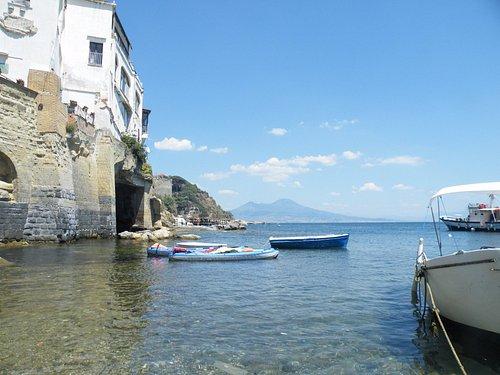 Marechiaro fisherman village in Naples