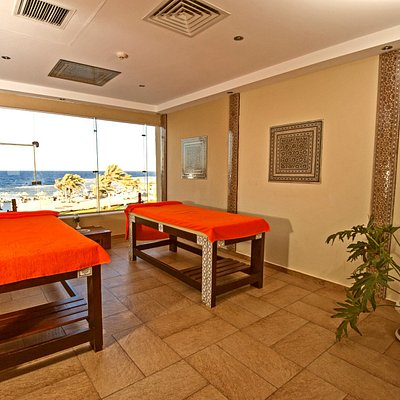 Sea view massage rooms in Planet spa (Marsa Alam)!