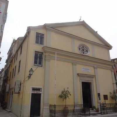Церковь Панагия Фанеромени, август 2017 года...