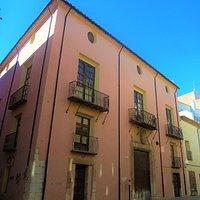 Vista exterior de la Casa del Marqués