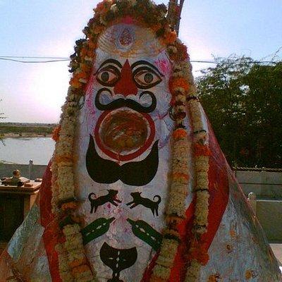 The God Bheruji Statue - Gajner Temple